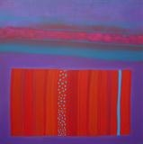 Magic Carpet 1 by Ian Carr, Painting, Acrylic on canvas
