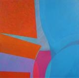 Quintych 4 by Ian Carr, Painting, Oil on canvas